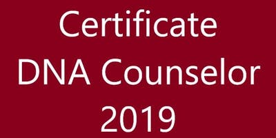 Certificate DNA Talent Counselor November 13-15, 2019 Schiphol Netherlands