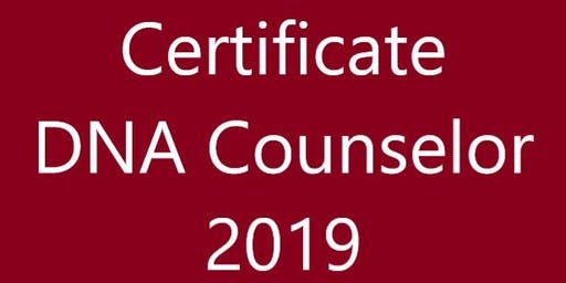 Certificate DNA Talent Counselor November 13-15, 2019 Schiphol Netherlands