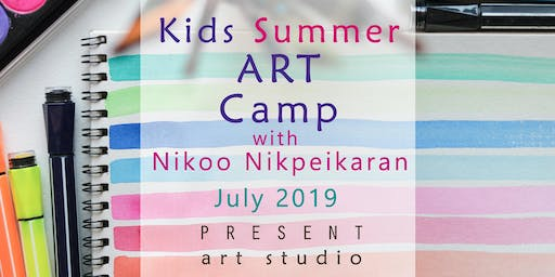 Kids Summer ART Camp in south Vancouver, 15 - 19 July, 9:30 am - 12:30 pm