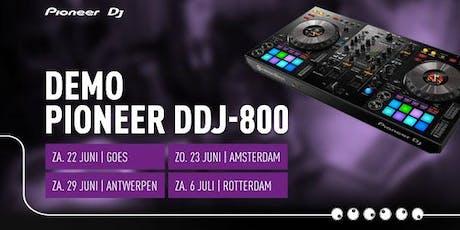 Demo Pioneer DDJ-800 tickets