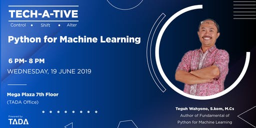 TECH-A-TIVE - Python for Machine Learning