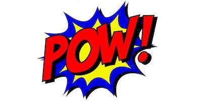 Winter School Holiday Program - Superhero Comic Art