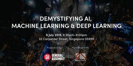 Demystifying AI, Machine Learning and Deep Learning tickets