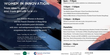 Women in Innovation: from Idea to Plan and from Growth to Scale tickets