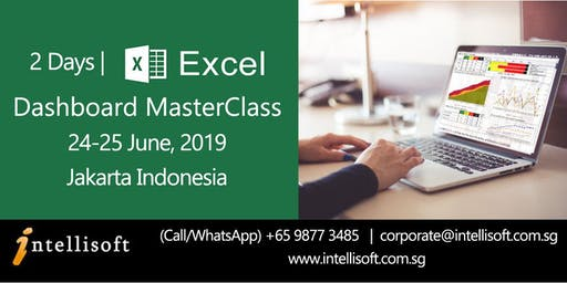 Create Management Dashboards With Excel, June 24-25 2019 |JKT
