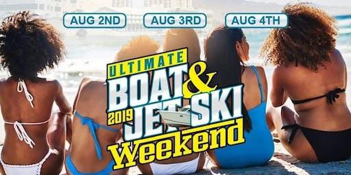 Ultimate Boat & Jetski Weekend 2019