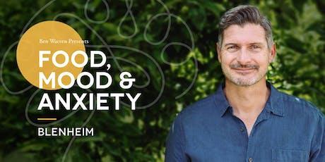 Food, Mood & Anxiety –Blenheim tickets