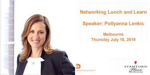 Melbourne Networking Lunch and Learn with Pollyanna Lenkic