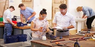 Introduction into Brickwork/ Plumbing/ Carpentry Evening Class BTEC Level 1