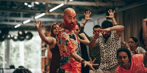 Danzaterapia Maria Fux con Pio Campo - Tempo.. movimento, mistero