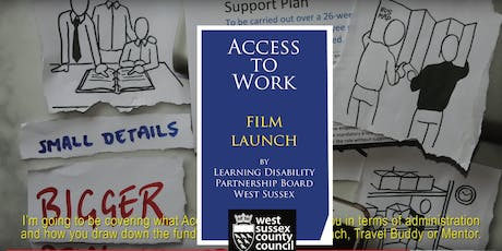 Access to Work film launch tickets