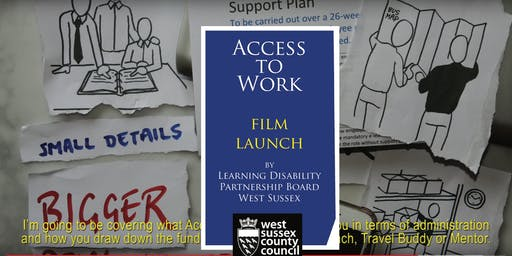 Access to Work film launch