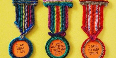 Guerilla Knitting Workshop with David Shenton tickets