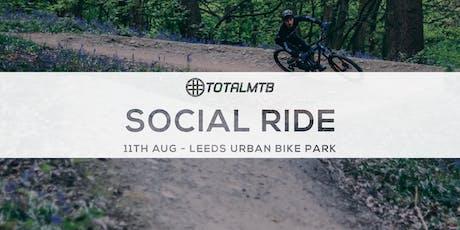 #TotalMTB Social Ride - Leeds Urban Bike Park tickets