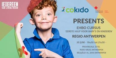 Themales 'eerste hulp voor baby's en kinderen' voor COKIDO LEDEN - REGIO ANTWERPEN