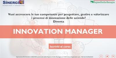 Corso INNOVATION MANAGER