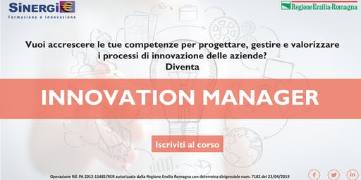 Corso INNOVATION MANAGER