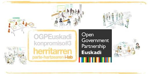 i-Lab-aren Foru Irekia eta Elkarlan eta OpenData Euskadi sari banaketa