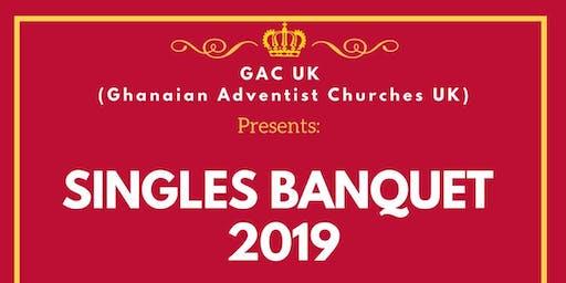 GAC UK(Ghanaian Adventist Churches UK) 'Singles Banquet 2019'