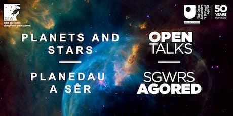 Planets and stars I Planedau a sêr tickets