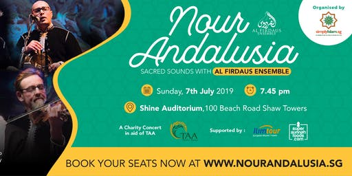 Nour Andalusia Charity Concert with Al Firdaus Ensemble