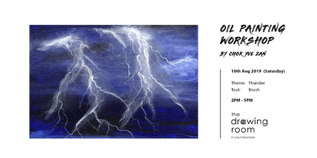 Oil Painting Workshop by Zan - Thunder by brush tickets