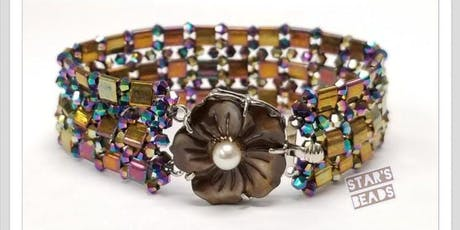 Tila and Crystal Bracelet - Jewelry Making tickets