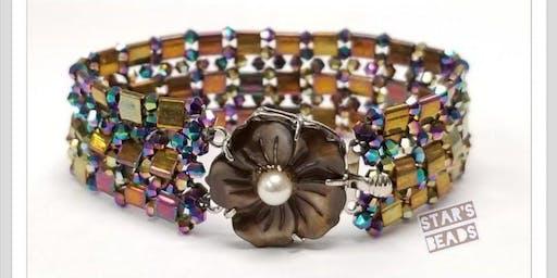 Tila and Crystal Bracelet - Jewelry Making