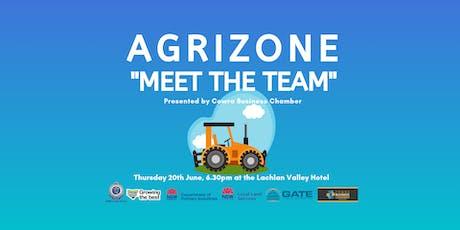 "AgriZone ""Meet the Team"" tickets"