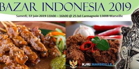 Festival Culinaire Indonésien 2019 billets