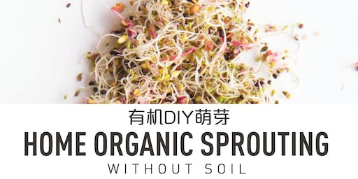 Organic Home Sprouting Workshop