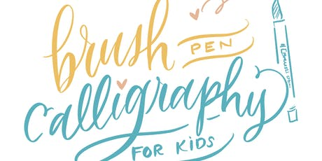 Brush Calligraphy for Kids  tickets