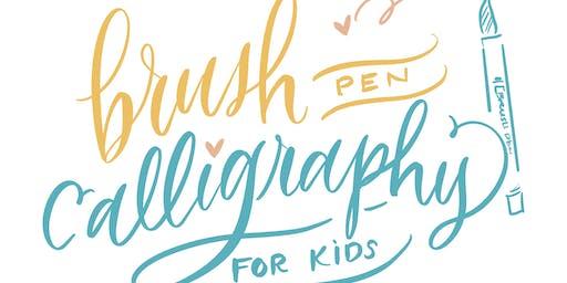 Brush Calligraphy for Kids