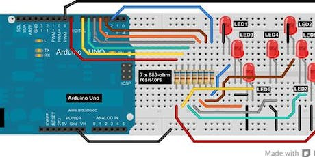 Workshop Arduino Base - Viterbo biglietti