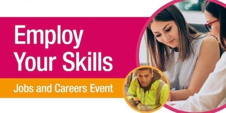 Employ Your Skills - Jobs and Careers Event tickets
