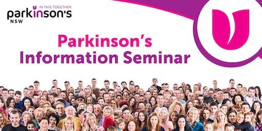 Parkinson's Information Seminar – Bega