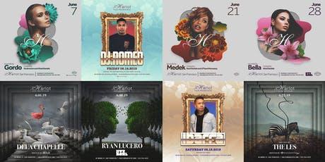 June Events at the New Harlot featuring the Hottest DJs playing HipHop / Top40 / Classic Remixes tickets