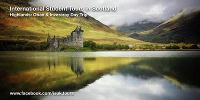 Highlands: Oban and Inveraray Day Trip Sun 15 Sep