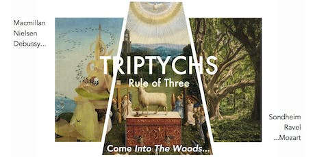 TRIPTYCHS - RULE OF THREE - VIVA VOCE Chamber Choir & Players tickets