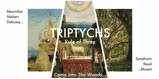 TRIPTYCHS - RULE OF THREE - VIVA VOCE Chamber Choir & Players