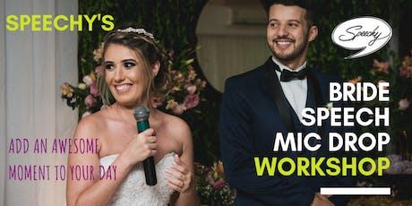 Speechy's Bride Speech Workshop tickets