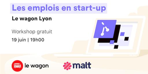 Les emplois en start-up - free workshop