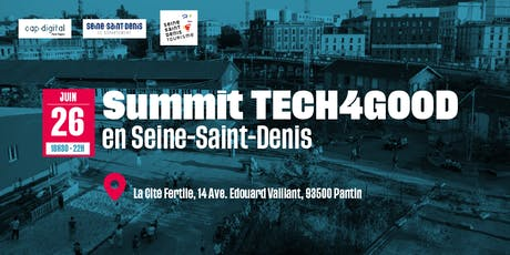SUMMIT TECH4GOOD en Seine-Saint-Denis billets