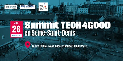 SUMMIT TECH4GOOD en Seine-Saint-Denis