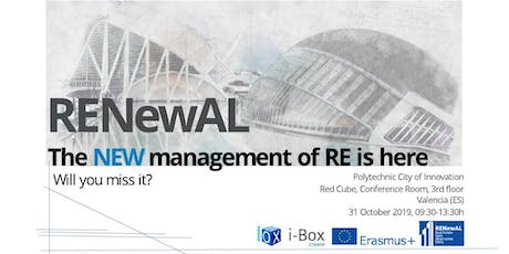 New Trends on Real Estate Management - RENEWAL Project entradas