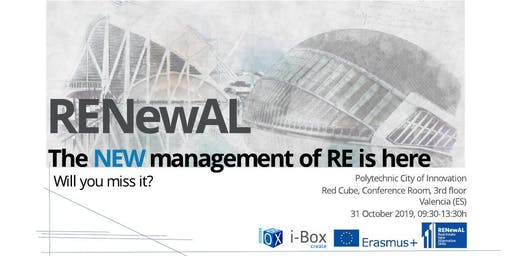 RENewAL Final Conference: New Trends on Real Estate Management