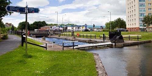Netwalking with the Chamber - Forth & Clyde Canal from Clydebank