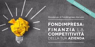 FONDIMPRESA: Finanzia la competitività della tua azienda - Seconda tappa