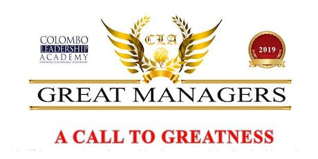 CLA GREAT MANAGERS 2019 tickets