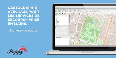 Cartographie avec QGIS pour les services de secours et de prévention - initiation tickets